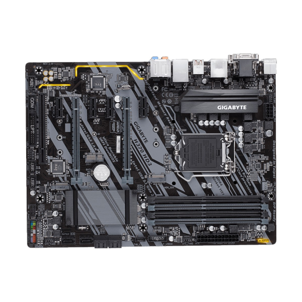 Gigabyte H370 HD3 8th /9th Generation Supported Motherboard