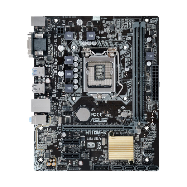 Asus H110 6th/7th Generation Supported Motherboard