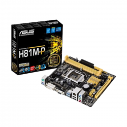 Asus H81M-P 4th Generation Supported  Motherboard