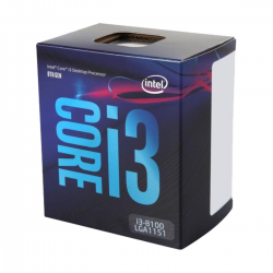 Intel Core i3-8100 Coffee Lake Processor CPU 8th Gen 6MB Cache 3.60 Ghz
