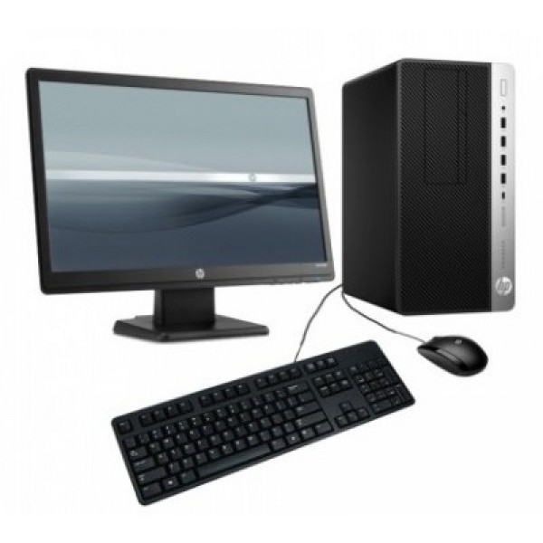 HP 400 G5 MT Pro-Desk Intel Core i7 8700 Micro tower PC