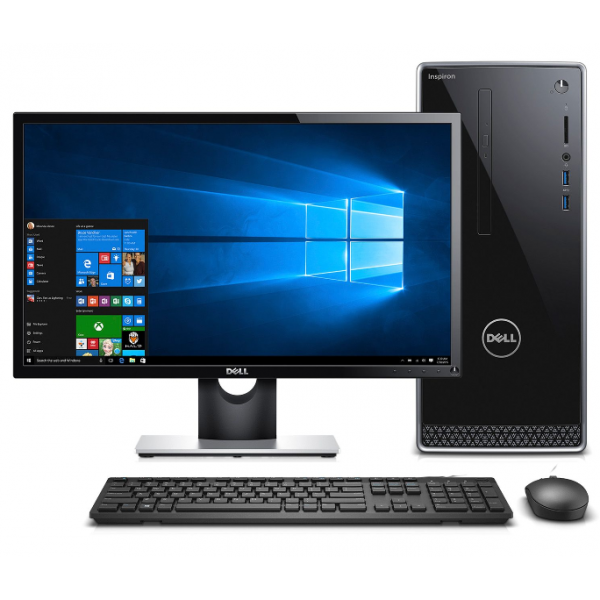 Dell Inspiron 3670DT 8th Gen Intel Core i3 8100 Mini Tower Brand PC
